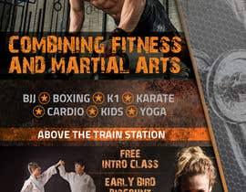 #43 for Design a Flyer for New Martial Arts Gym af todtodoroff