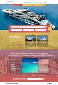 #9 untuk Design a UX/UI Mockup for Yacht Charter Comparison Site oleh zicmedia