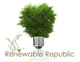 nº 32 pour Logo Design for The Renewable Republic par bikker