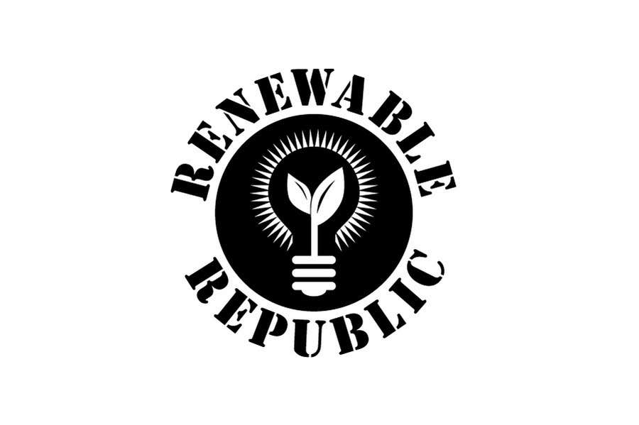 Konkurrenceindlæg #53 for Logo Design for The Renewable Republic