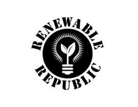 #53 para Logo Design for The Renewable Republic de jonWilliams74