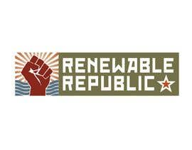#26 para Logo Design for The Renewable Republic de jonWilliams74