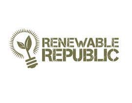 #73 para Logo Design for The Renewable Republic de jonWilliams74