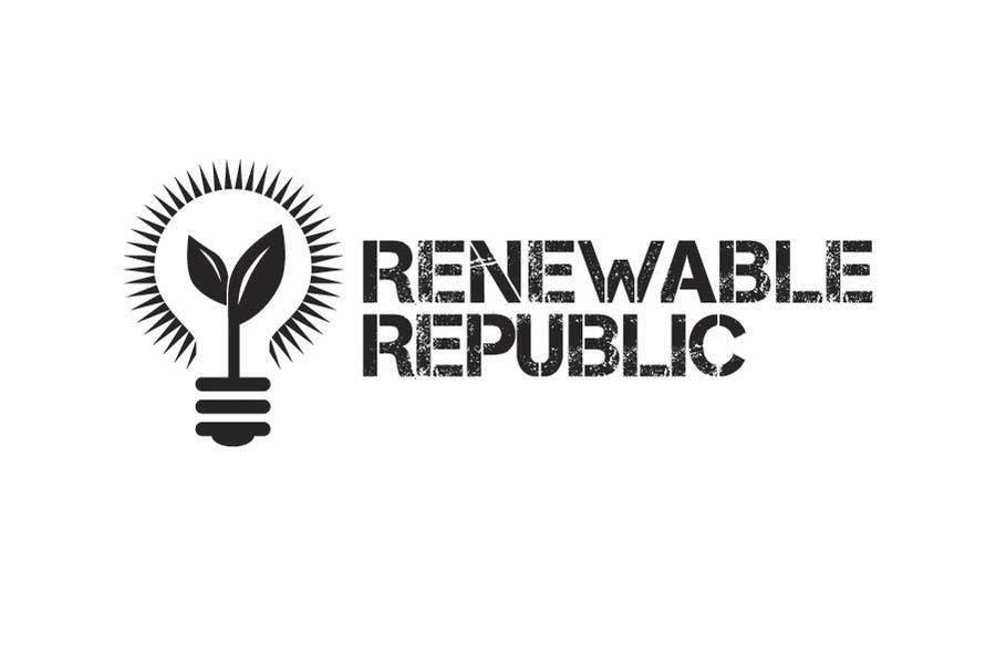 Contest Entry #                                        71                                      for                                         Logo Design for The Renewable Republic