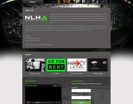 #15 cho Design a Website Mockup for NextLevelHockey bởi negibheji