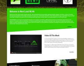 #16 for Design a Website Mockup for NextLevelHockey af kethketh