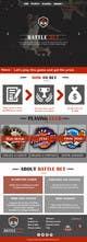 Konkurrenceindlæg #7 billede for Design a Website Mockup for BattleDays