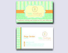 #75 untuk Design some Business Cards for Baby Boutique oleh naikerhiroko