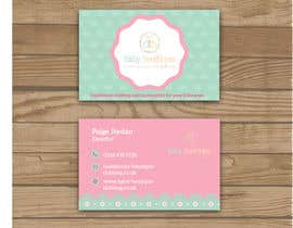 oumaimahamdi0 tarafından Design some Business Cards for Baby Boutique için no 57