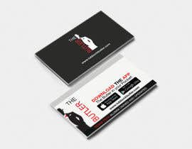 #22 untuk Design some Business Cards for The Butler oleh apoorvmehta