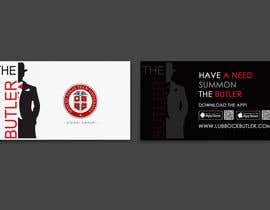 #12 untuk Design some Business Cards for The Butler oleh einsanimation