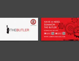 #15 untuk Design some Business Cards for The Butler oleh einsanimation