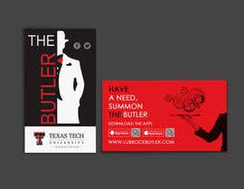#17 untuk Design some Business Cards for The Butler oleh einsanimation