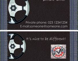 #22 for Business Card - Private Driver by christinaEl