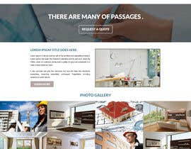 Nro 6 kilpailuun vevey architecte web template käyttäjältä gravitygraphics7