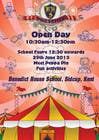 Graphic Design Kilpailutyö #9 kilpailuun Design a Flyer for School Open Day