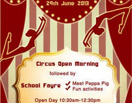 melaniaraducu tarafından Design a Flyer for School Open Day için no 18