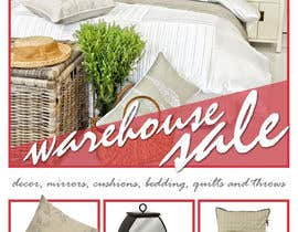 grafixeu tarafından Design a Flyer for Homewares Warehouse Sale için no 18