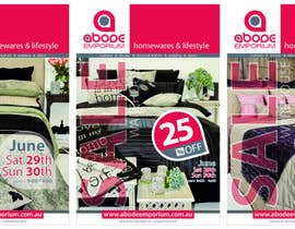 nº 7 pour Design a Flyer for Homewares Warehouse Sale par giriza