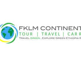 #60 untuk Logo for Environmentally friendly Tour and Travel In Ethiopia oleh LucianCreative