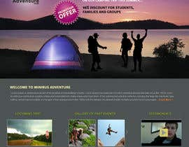 #10 for Design a Website Mockup for An Outdoors & Minibus Hire Company af Sipofart