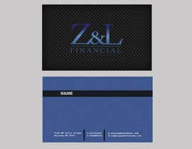 #55 untuk Design some Business Cards for Z and L financial oleh POONAKHATRI
