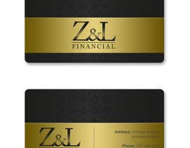 #69 untuk Design some Business Cards for Z and L financial oleh konkoksie