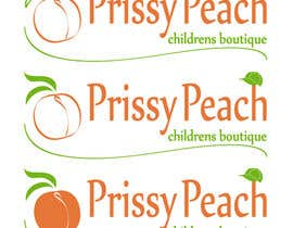 EmiG tarafından Design a Logo for Prissy Peach Childrens Boutique için no 44