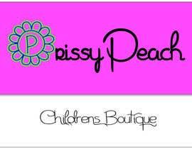 simonad1 tarafından Design a Logo for Prissy Peach Childrens Boutique için no 55