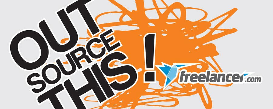 "#72 for Logo Design for Want a sticker designed for Freelancer.com ""Outsource this!"" by WinchesterLyon"