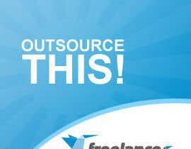 "nº 204 pour Logo Design for Want a sticker designed for Freelancer.com ""Outsource this!"" par zeedezign"