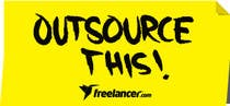 "#48 for Logo Design for Want a sticker designed for Freelancer.com ""Outsource this!"" by S4L"
