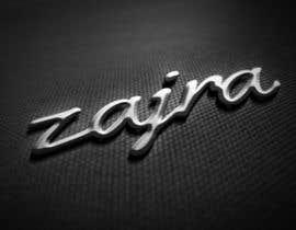 "#57 untuk Design Name / Letters of the company ""zajra"" oleh VincenzoDesign"