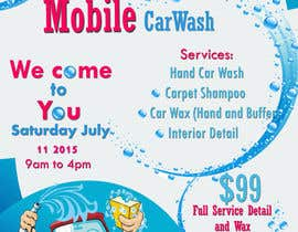 #10 for Omar Auto Detail Flyer by KamranmAhmed
