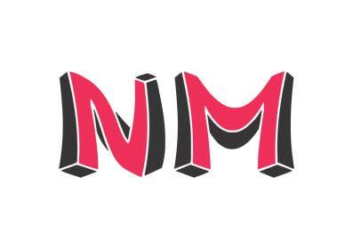 Nro 397 kilpailuun Design a Logo for NM käyttäjältä BDamian