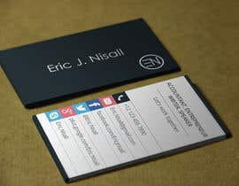 #26 cho Design modern/sleek business cards bởi Habib919000