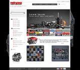 Bài tham dự #14 về Graphic Design cho cuộc thi Design a Website Mockup for an auto parts wesbite