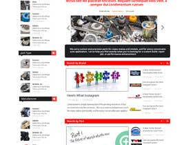 #18 untuk Design a Website Mockup for an auto parts wesbite oleh mahiweb123