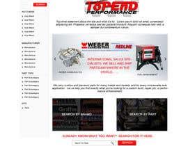 #5 untuk Design a Website Mockup for an auto parts wesbite oleh webidea12