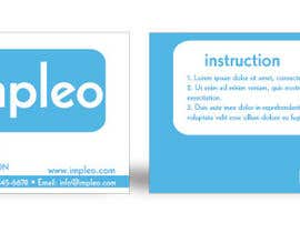 #105 para Business Card Design for Impleo por moncho37