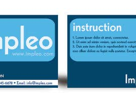 #102 untuk Business Card Design for Impleo oleh moncho37