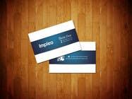 Proposition n° 123 du concours Graphic Design pour Business Card Design for Impleo