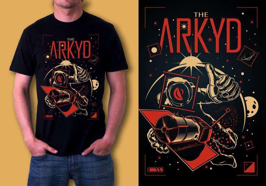 #799 for Earthlings: ARKYD Space Telescope Needs Your T-Shirt Design! by MajoX21