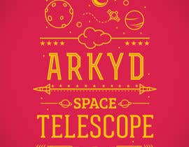 nº 2561 pour Earthlings: ARKYD Space Telescope Needs Your T-Shirt Design! par Sendalbejat