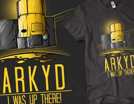 #2421 для Earthlings: ARKYD Space Telescope Needs Your T-Shirt Design! от wonderinged