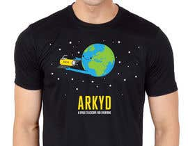 nº 1760 pour Earthlings: ARKYD Space Telescope Needs Your T-Shirt Design! par RamonDNC