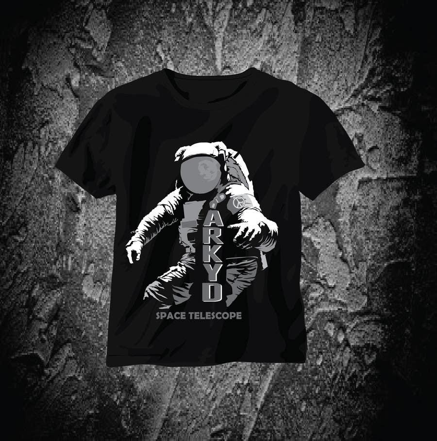 Bài tham dự cuộc thi #385 cho Earthlings: ARKYD Space Telescope Needs Your T-Shirt Design!