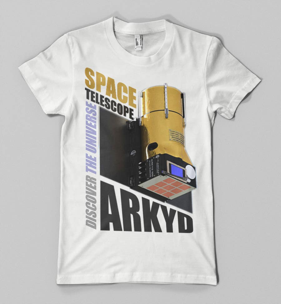 #1381 para Earthlings: ARKYD Space Telescope Needs Your T-Shirt Design! de nihatgulsuyu