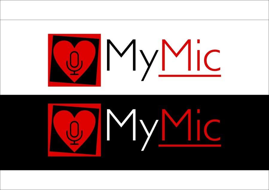 Bài tham dự cuộc thi #7 cho Design a Logo for 'MyMic' Smartphone App