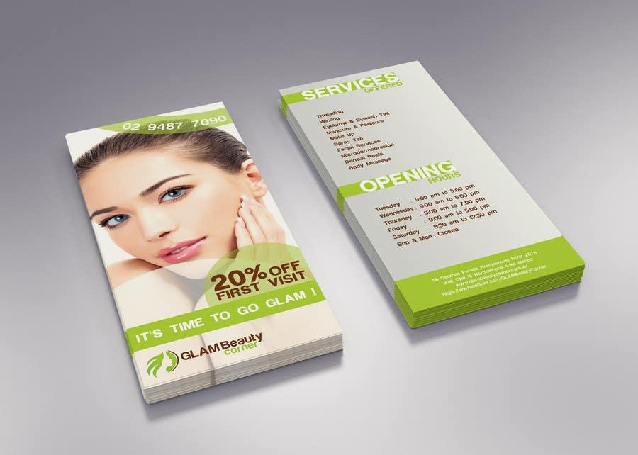 Konkurrenceindlæg #6 for Design a Flyer for Beauty Salon
